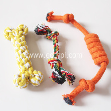 Durable Cotton Rope Interactive Dog Knot Toys